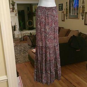 Anthropologie (Knox Rose ) maxi skirt